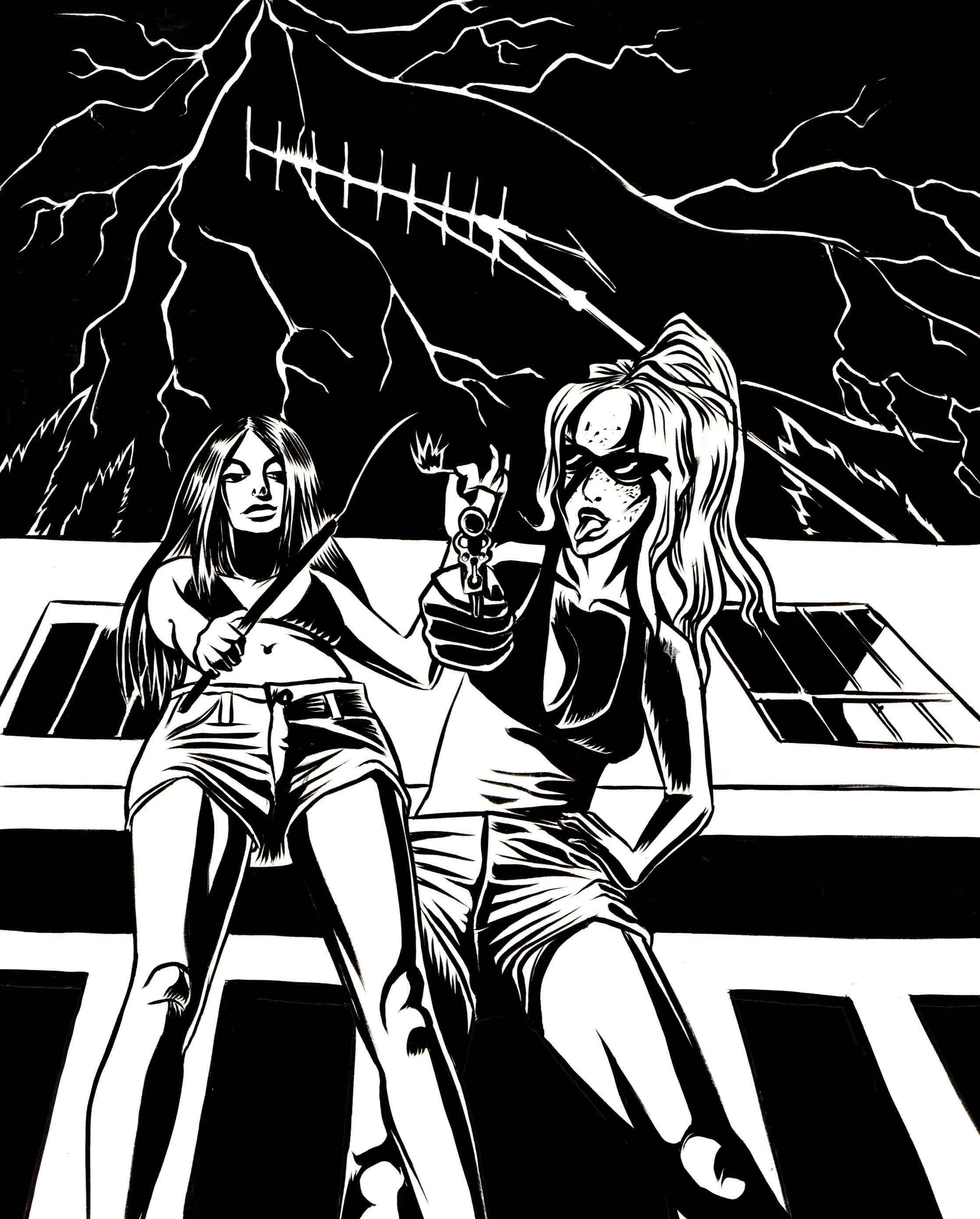 B-movie-girls_illustration