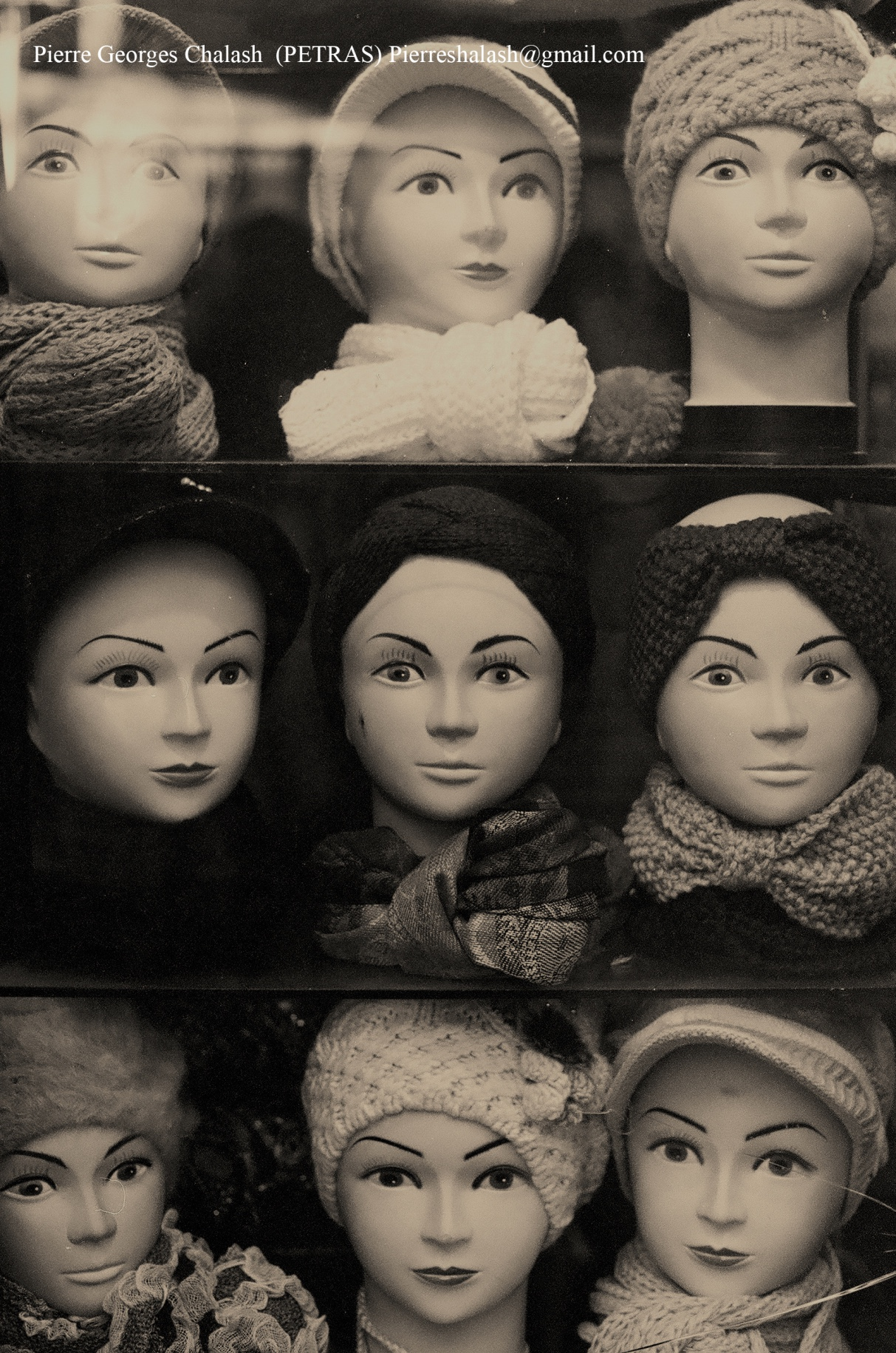 Every Other Face -- Pierre Chalal